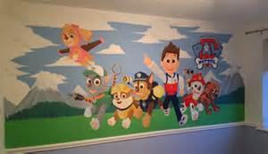 Harry Potter Themed Bedroom kids custom artwerk