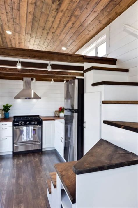 mint tiny homes metal framed 28 tiny house on wheels by mint tiny homes