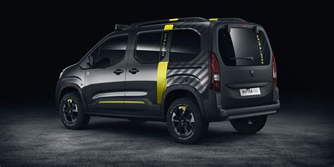 peugeot 4x4 cars peugeot rifter 4x4 concept revealed photos