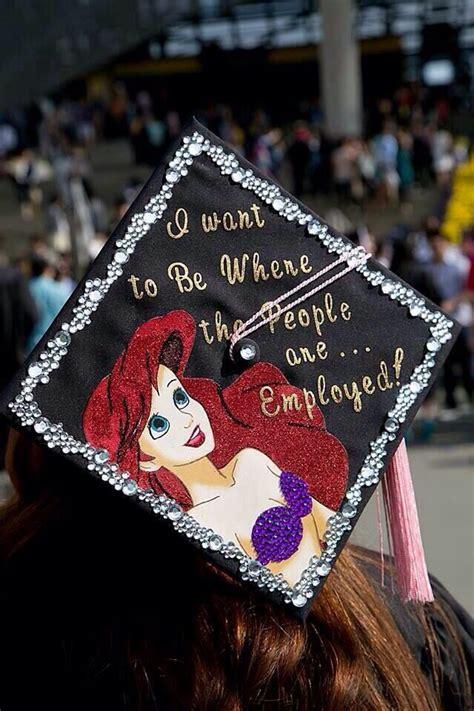 mermaid graduation cap ideas