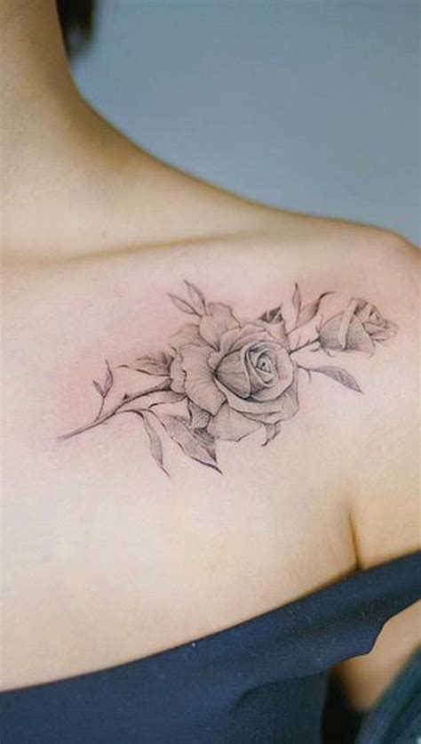 shoulder roses tattoo 50 beautiful ideas simple