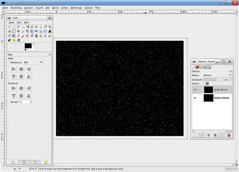 gimp invert colors create a cool starfield tutorials gimpusers