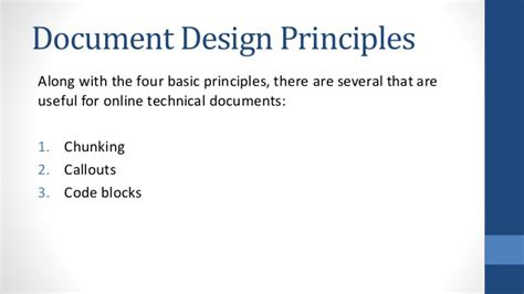 document layout design principles document design basic principles