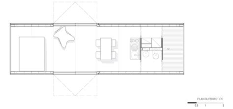 container home floor plan iq hause christopher bord mapa architects modular mobiles prefab house mobile