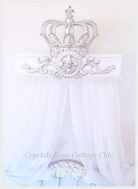 crown bed canopy www crystalsrosecottagechic com 169 website design by onespringstreet net 2011