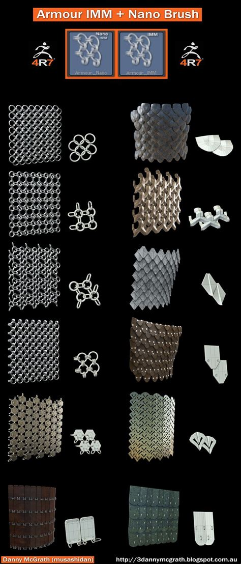 zbrush chainmail tutorial 145 best zbrush alpha images on pinterest zbrush