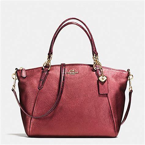 Coach Kelsey Snake Embossed coach f55514 small kelsey satchel in metallic leather