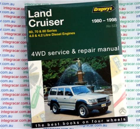 Toyota Landcruiser 80 Series Workshop Manual Toyota Landcruiser Diesel 60 70 80 Series Repair Manual