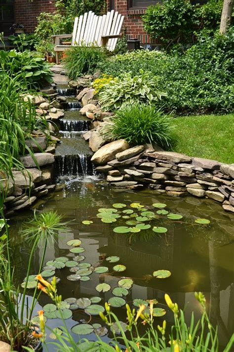 Backyard Waterfalls And Ponds by 134 Best Waterway Pond Ideas Images On