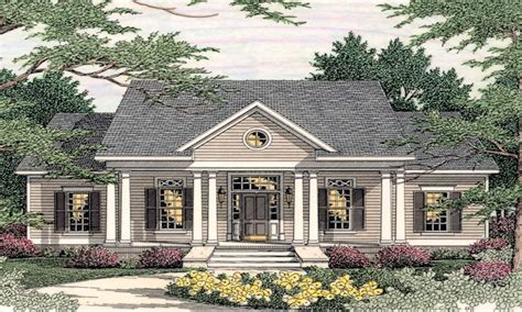 southern style house plans small southern colonial house plans colonial style homes
