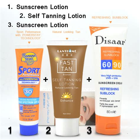 Harga The Shop Sunscreen sunblock tanning promotion shop for promotional sunblock