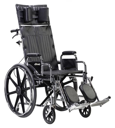 Reclining Wheel Chair by Sentra Reclining Wheelchair Drive