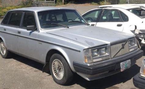 volvo 240 project buy used 1983 volvo 240 diesel restoration