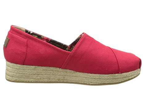 bobs wedge shoes bobs from skechers wedge espadrille memory foam