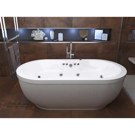 Stand Alone Jetted Bathtubs Freestanding Whirlpool Bath Home Design Ideas