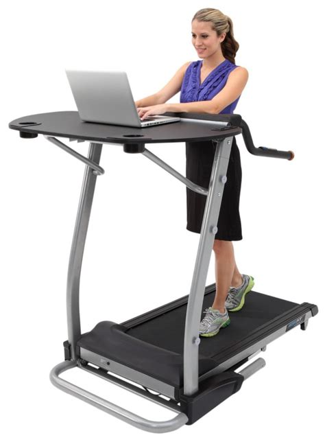 Laptop Desk For Treadmill How To Build A Treadmill Desk Live Active Fitness