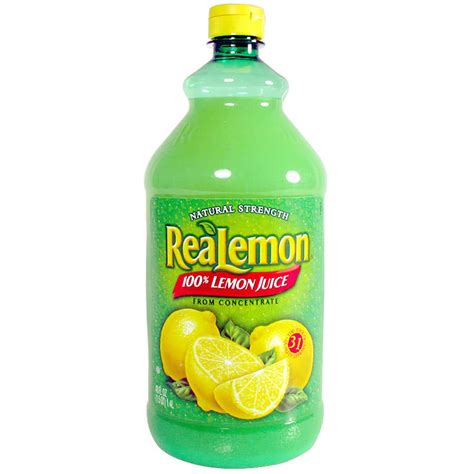 Juicer 5 In 1 realemon 100 real lemon juice 48 oz bottle