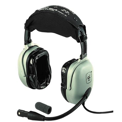 Headset David Clark David Clark H20 10 Passive Pilot Headset With Free Headset