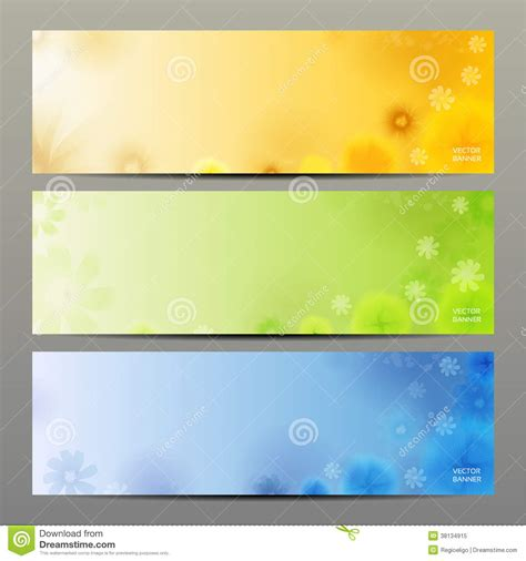 abstract flower vector background brochure template