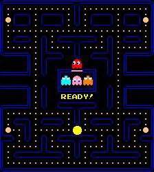 pacman pattern video pac man i was able to learn the pattern and almost turn
