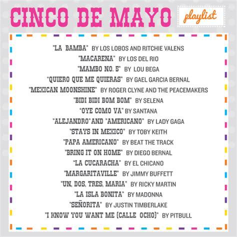 traditional cinco de mayo songs arriba cinco de mayo playlist
