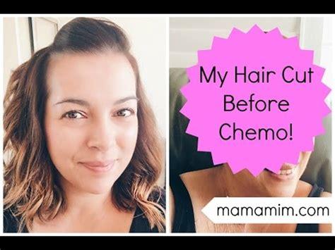 pre chemo haircut pre chemo hair cut lovefrommim com youtube