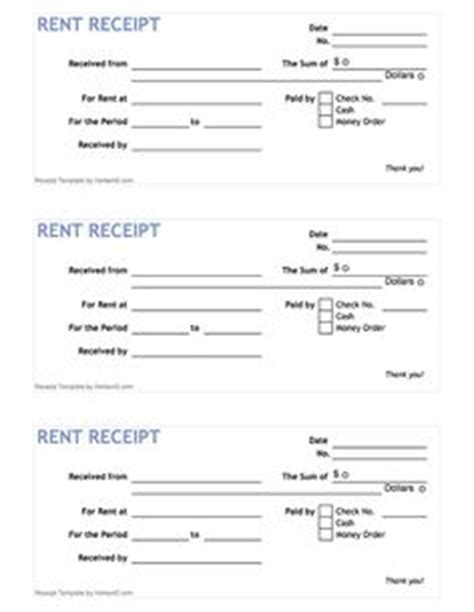 vacation home rental receipt template free employee evaluation forms printable search