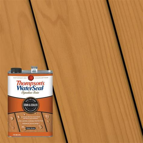 shop thompsons waterseal signature pre tinted timber