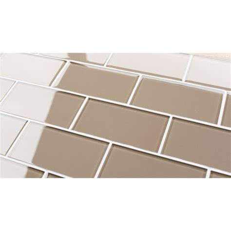 Glass Tiles Backsplash Kitchen Sand Colored Glass Tile I M Using Artisian Brown
