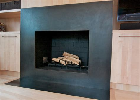 Metal Surround For Fireplace by Metal Surround For Fireplace Fireplace Design Ideas
