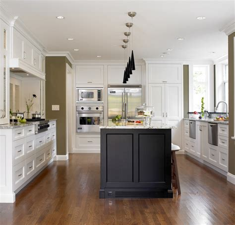 kitchen island with freestanding stove transitional tudor house transitional kitchen other metro by