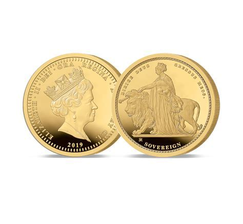 The 2019 Queen Victoria 200th Anniversary 24 Carat Gold