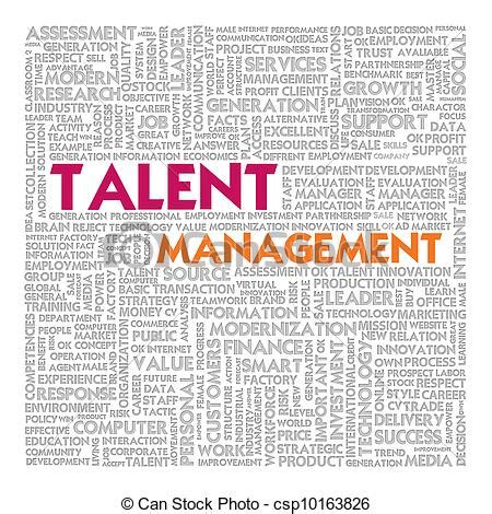 talent search free people icons clip art of business word cloud for business concept
