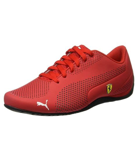 ferrari shoes puma ferrari red casual shoes available at snapdeal for rs