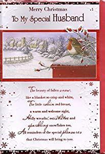 husband christmas card merry christmas   special husband traditional christmas robin