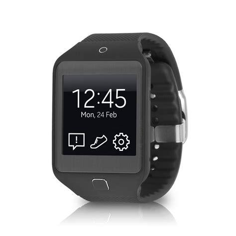 A Samsung Smartwatch Samsung Galaxy Gear 2 Neo Smartwatch Sm R381 W Fitness Rate Monitor Black Ebay