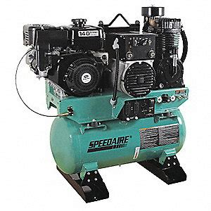 speedaire  gal stationary air compressorgenerator