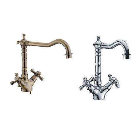 rubinetto miscelatore bagno rubinetto cromato o bronzato collo alto per bagno o cucina