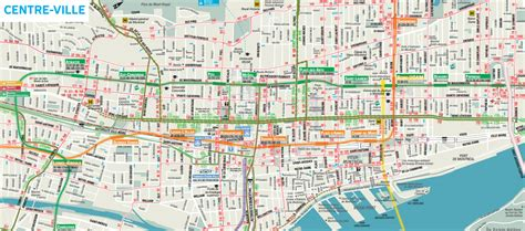 printable map montreal maps update 1200875 tourist map of montreal 14