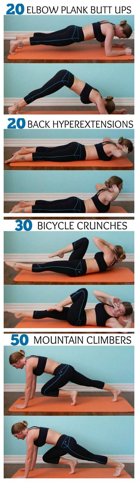 ab routine daily workout    great series  tone  abs remember   hurts