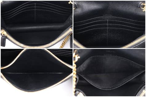 Clutch Ysl Woc Matelasse Chevron Caviar Hitam Gold Seprem 2017 laurent a w 2015 ysl black quot monogram envelope chain wallet quot clutch purse for sale at 1stdibs