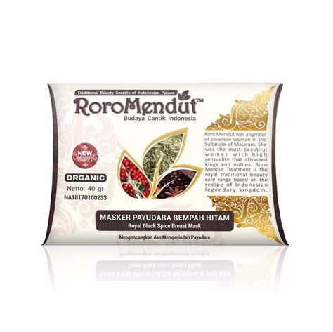 Masker Muka Roro Mendut skin care terbaik di indonesia pemutih kulit alami by