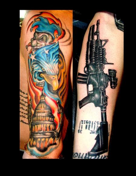 m4 tattoo m4 by steve cornicelli tattoonow