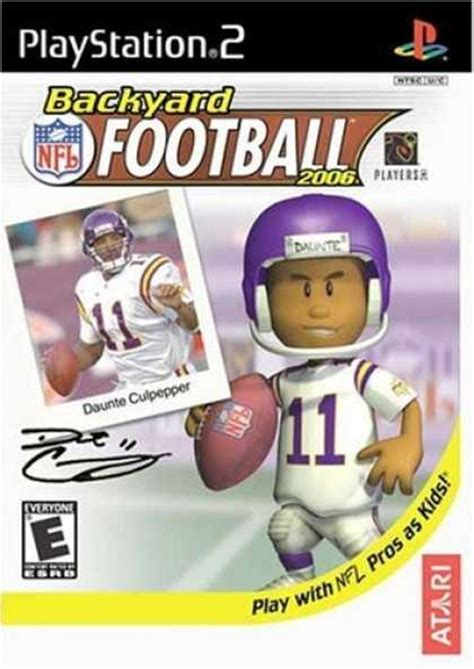 backyard football ps2 bestselling games 2006 covers 2050 2099
