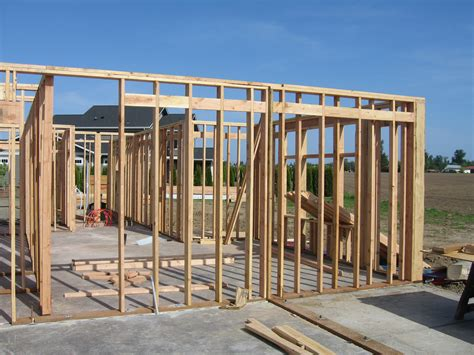 how to frame a house framing the house construction corner