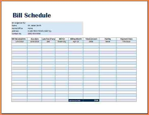 8 payment spreadsheet template excel spreadsheets group