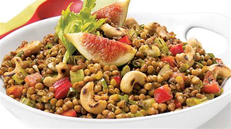 recette comment cuisiner les lentilles salade de lentilles m 233 diterran 233 enne recettes iga