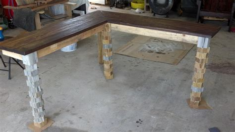 Reclaimed Wood Corner Desk Wall Mount Corner Desk Reclaimed Wood By Todd Mcdonald Quot 2 Bored Saws Quot Lumberjocks