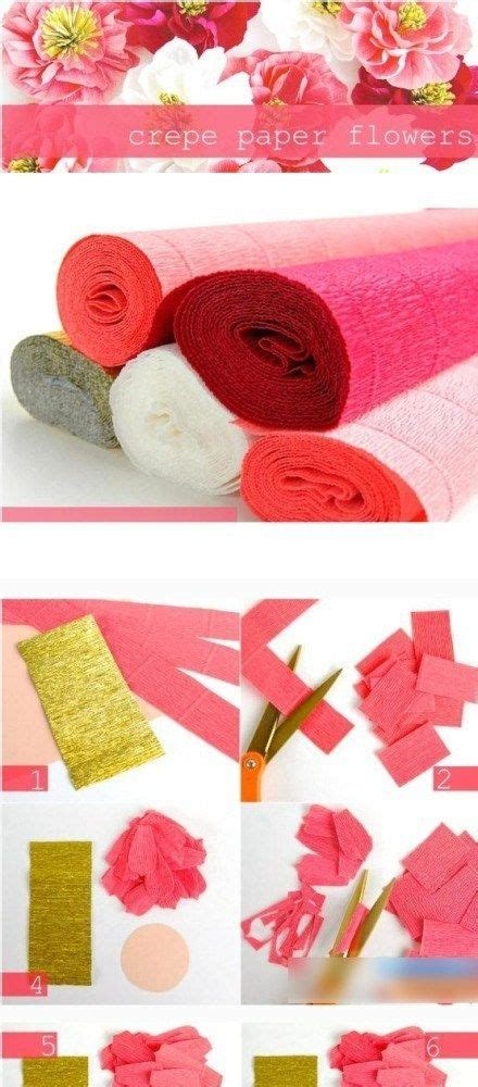 Crepe Paper Crafts - 98 best crepe paper flowers images on crepe