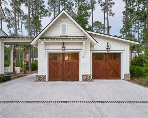 house plans with 2 separate attached garages detached garage design ideas remodels photos